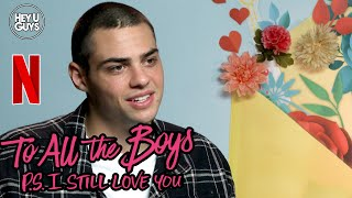 Noah centineo is interviewed for the teen comedy netflix original film to all boys: p. s. i still love you, sequel boys i've loved befo...