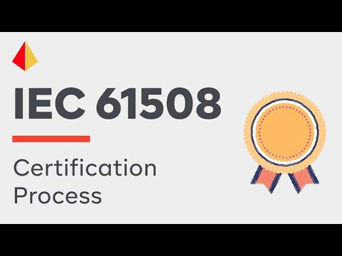IEC 61508 Certification of Safety Equipment