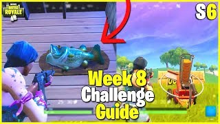 All Trophy Fish Locations + Clay Pigeon Shooters | S6 Week 8 Challenge Guide - Fortnite
