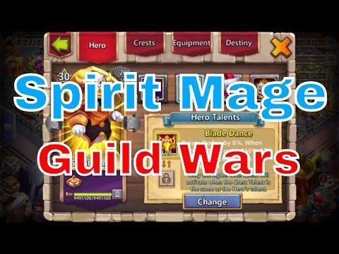 Spirit Mage In Castle Clash Guild Wars