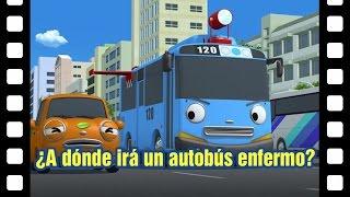📽¿A dónde irá un autobús enfermo? l Teatro de Tayo #12 l Tayo el pequeño Autobús Español