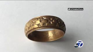 Man searches for owner of wedding ring washed ashore on Bay Area beach