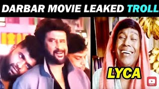 DARBAR FULL HD MOVIE LEAKED TROLL  | Darbar HD movie in TamilRockers   |  troll 24  |