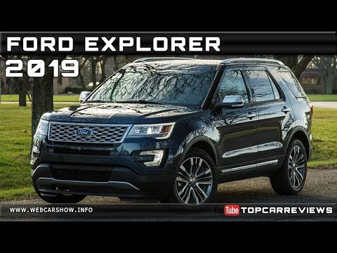 2019 FORD EXPLORER Review Rendered Price Specs Release Date