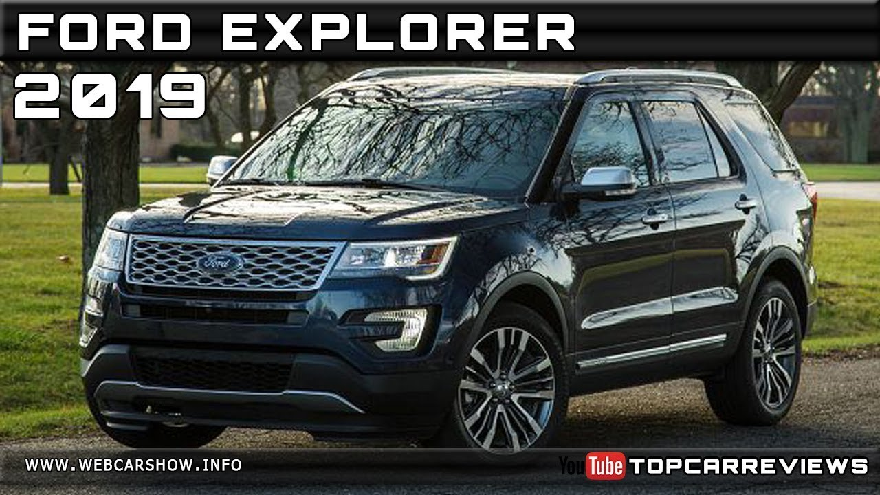 2019 Ford Explorer Review Rendered Price Specs Release Date Youtube