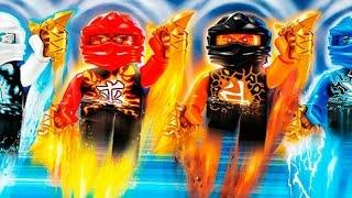 Мультики Лего. ЛЕГО НИНДЗЯГО Летающий ниндзя мультфильм на русском языке 2 серия.