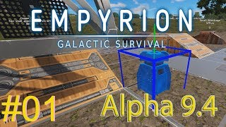Starting Over :: Empyrion Galactic Survival Gameplay (Alpha 9.4) : #01