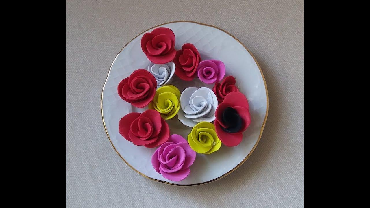 Düğmeden Çiçek Nasıl Yapılır