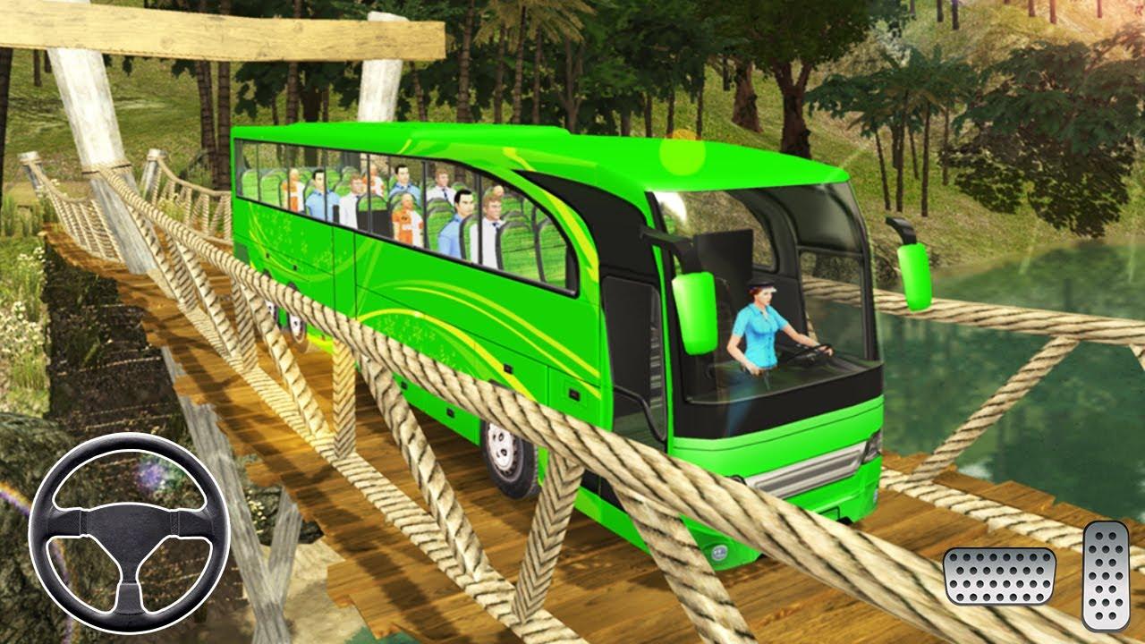 سائق حافلة العبور محاكي سائق - ألعاب الحافلة - العاب سيارات - ألعاب أندرويد
