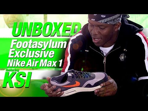 280f925348 Unboxed: Footasylum Exclusive Air Max 1 ft. KSI, Yung Filly and Ediz ...