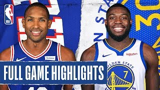 76ERS at WARRIORS   FULL GAME HIGHLIGHTS   March 7, 2020