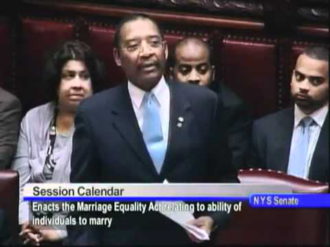 NYS Senate Vote on Marriage Equality Act