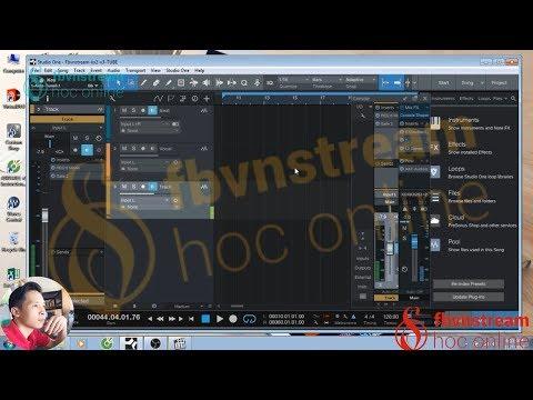 Giới thiệu phần mềm ✅ HÁT LIVE STREAM Studio One ✅ chất âm tuyệt vời