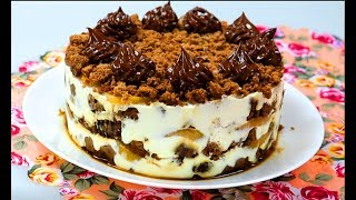 Шоколадный Торт Без Выпечки. Простой рецепт