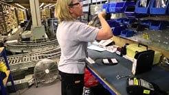 Inside our International Distribution centre at Maybrook, Leeds, UK