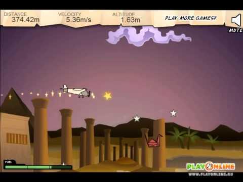 Игра: Бумажный самолет (Game: Paper Plane)