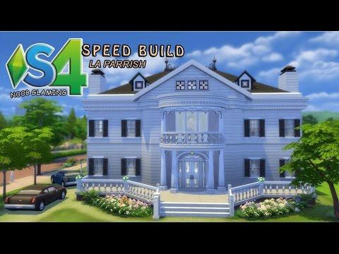 Sims 4 * Speed build * La Parrish