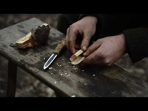 Making Yakut knife - blacksmithing