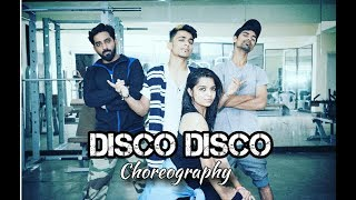 Disco Disco-A Gentleman | Omkar Dalvi Dance Choreography | Sidharth, Jaqueline