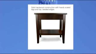 Leick Laurent Drawer Chair Side End Table