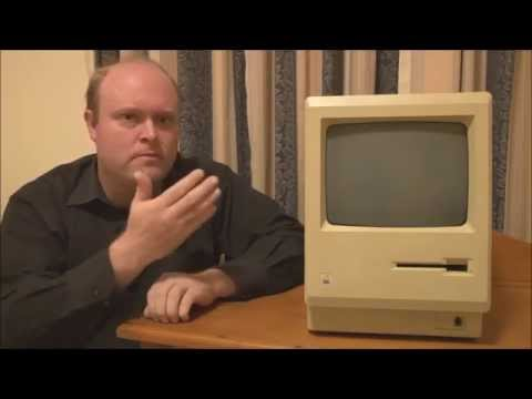 Apple Macintosh 128k (1984) Full Tour