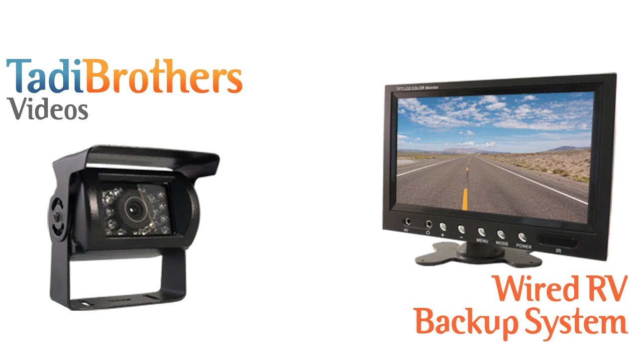 wired rv backup camera systems from www tadibrothers com [ 1280 x 720 Pixel ]