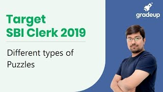 Target SBI Clerk 2019: Different types of Puzzles
