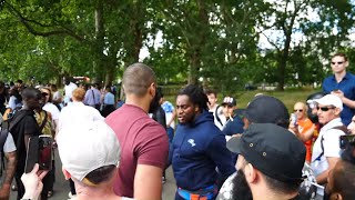 P1 - Furious Times,  Mohammed Hijab & Jedi | Speakers Corner | Hyde Park