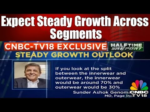 Expect Steady Growth Across Segments, Says Page Industries | CNBC TV18