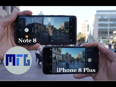 Thumbnail: iPhone 8 Plus vs. Samsung Galaxy Note 8 Camera Test & Comparison