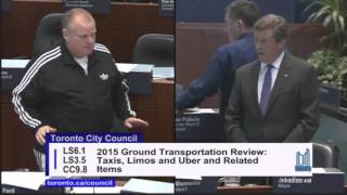 A look at how Councillor Rob Ford has bedevilled Mayor John Tory by criticizing him at city council as a precursor to running against Tory in the next election, in 2018.