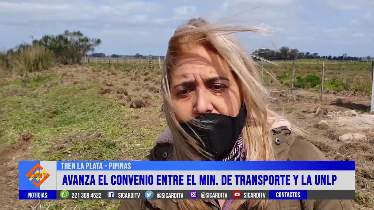 Nuevo impulso al proyecto de la vuelta del tren La Plata-Pipinas