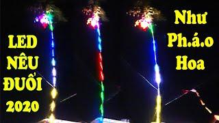 Tự Làm Cây Nêu Đèn LED Đuổi Trang Trí Tết 2020 Đẹp-Độc-Lạ Nhất Xóm