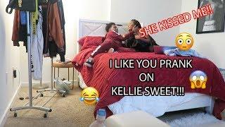I LIKE YOU PRANK ON KELLIE SWEET (SHE KISSED ME!) FT. JAY VERSACE, CORIE RAYVON, JORDAN DION