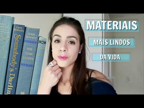 MEU MATERIAL ESCOLAR 2019 | FACULDADE | Ana Júlia Azambuja