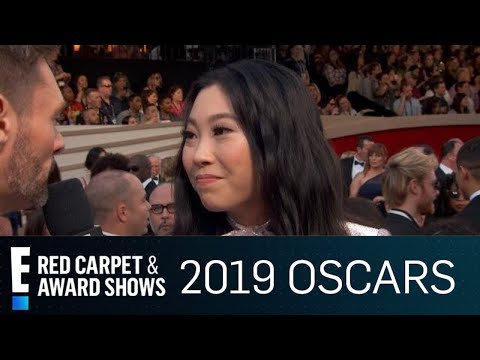 Awkwafina Reacts to Being a Gameshow Question  E Red Carpet & Award Shows