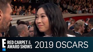 Awkwafina Reacts to Being a Gameshow Question | E! Red Carpet & Award Shows Video