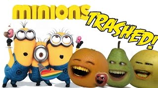 Annoying Orange - MINIONS TRAILER Trashed!