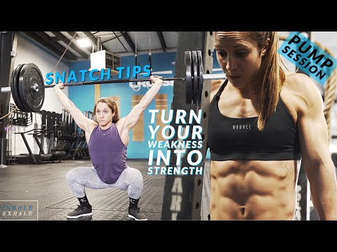 TEACHING THE SNATCH & GETTING A PUMP! How I put BODYBUILDING into my CROSSFIT Training.