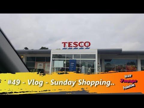 #49 - Vlog - 10/09/17 - Sunday Shopping..