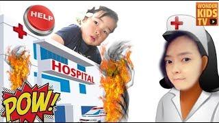 긴급 상황발생! 이상한 병원에서 벌어지는 재미난 이야기 toy hospital -인기영상인 이상한 병원 1편과 2편을 연속 strange hospital story