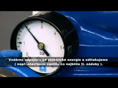 SIGMA PUMPY HRANICE - Kontrola Tlaku Vzduchu V Nádobě Domácí Vodárny