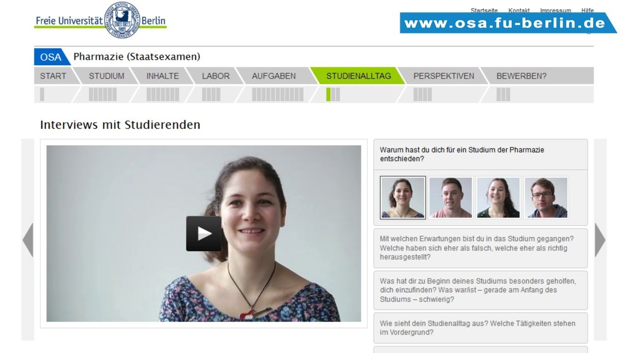 Pharmazie Studieren Berlin