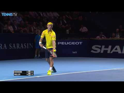 Nishikori Cilic Win Basel SFs Highlights 2016