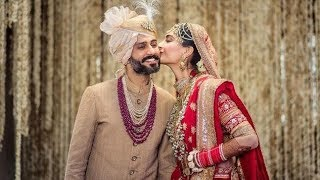 Bollywood Actress Sonam Kapoor & Anand Auja Marrige beautiful picture
