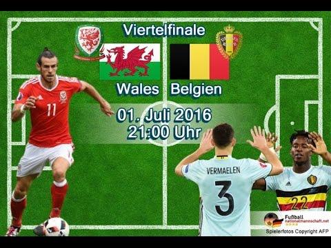 Belgien Vs Wales