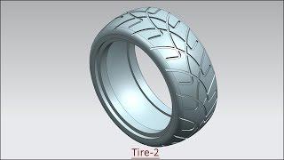 Tire 2 (Video Tutorial) Siemens NX