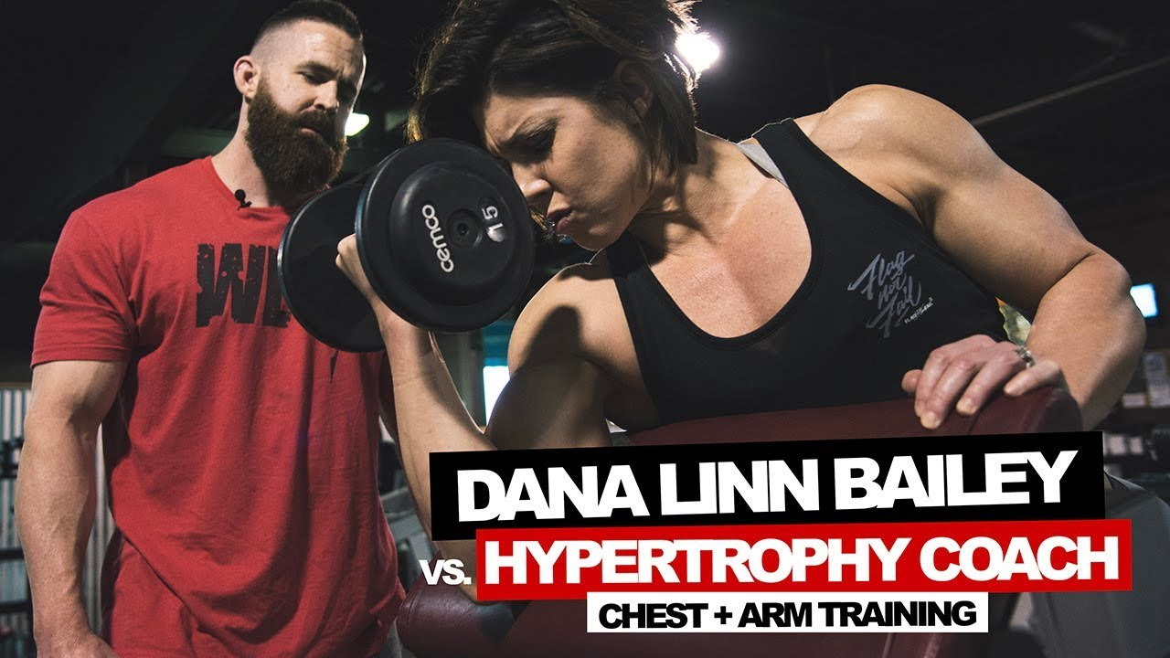 DLB vs  Hypertrophy Coach | Chest + Arms