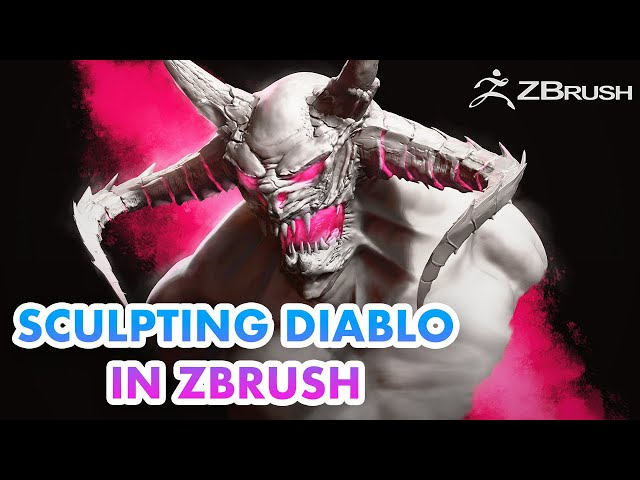 Sculpting a Diablo Inspired Character in ZBrush