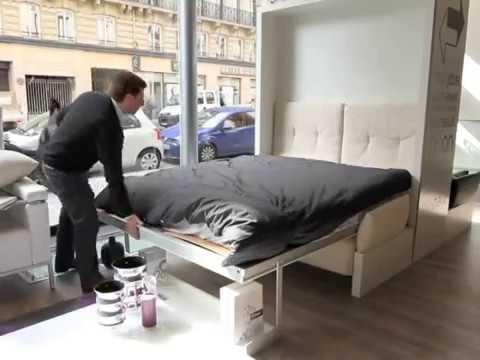 armoire lit escamotable nuovoliolla bimodal par la maison convertible